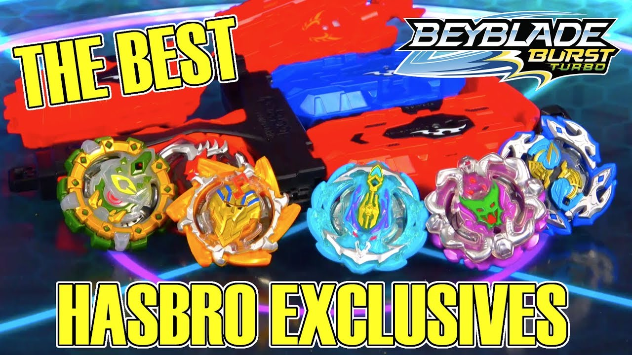 TURBO HASBRO EXCLUSIVE! WHICH IS THE BEST BEYBLADE?!