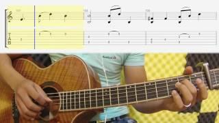 [TAB Guitar] Vùng Lá Me Bay (Như Quỳnh) ( Tab và Thế Tay )