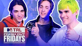 Waterparks Breaks Down The Craziest Celeb Hair Color | #MTVFreshOut