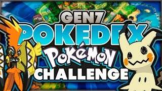 Pokemon Sun and Moon Pokedex Challenge! Generation 7 Pokemon Quiz!