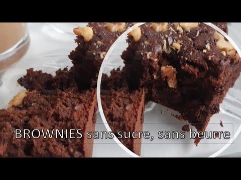 brownies-sans-sucre-et-sans-beurre-براونيز-بدون-سكر-وزبدة