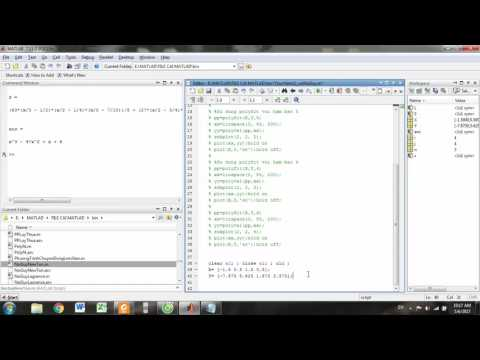 Lagrange Interpolating Polynomial on matlab part 1