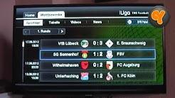 iLiga Fussball App auf dem Samsung Smart TV (iLiga The Football App)
