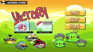 Angry Birds Ultimate Battle - TEAM PIGGIES AND TEAM BIRDS WAR