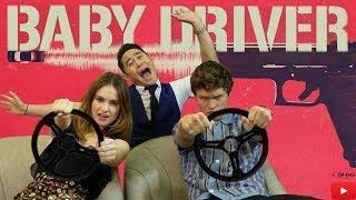 Eden Vs Ansel Charades | Baby Driver Junket | Eden Ang