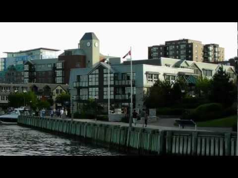 HD Tour of the City of Halifax Nova Scotia Canada Citadel Hill Public Gardens Waterfront Harbor