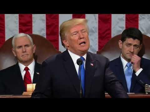 Army Staff Sgt. Justin Peck recognized at State of the Union