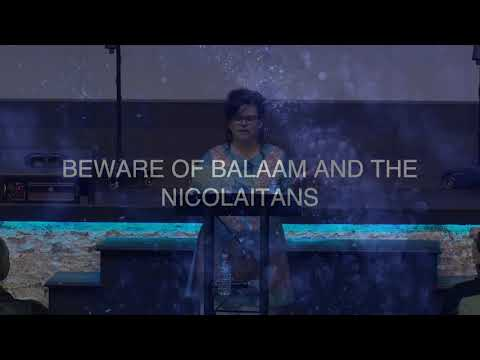 Beware of Balaam and the Nicholaitans  by Shara McKee