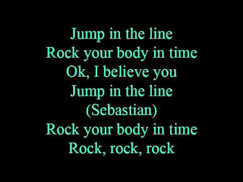 Jump in the line - lyrics