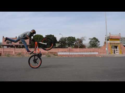 MTB Stunt Meet Jaipur Ft-Abhishek  Ft-Lakshay