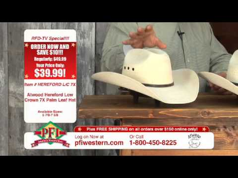 c97e392a95fc2 Atwood Palm Leaf Cowboy Hats - YouTube