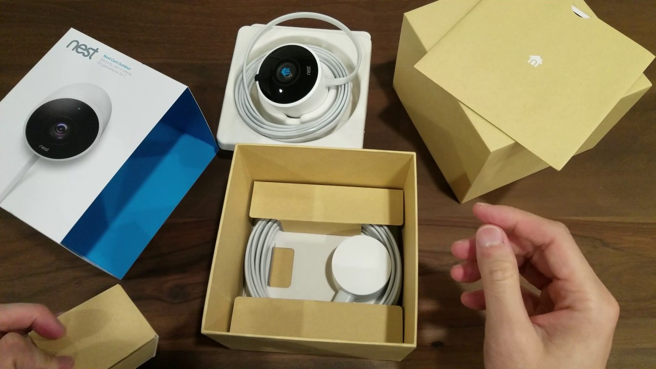 Nest Cam Outdoor Unboxing And Overview Youtube
