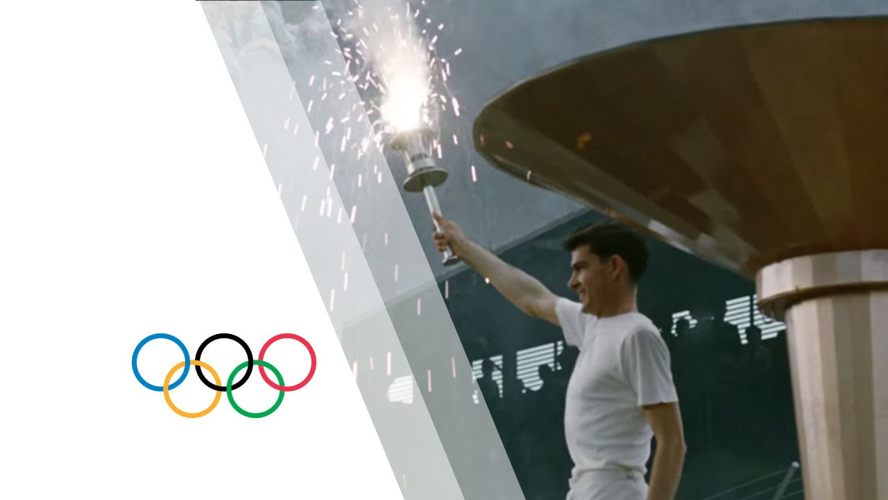 Melbourne 1956 Olympic Games - Olympic Flame & Opening Ceremony