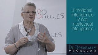 Emotional Intelligence is not Intellectual Intelligence