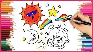Rainbow Brush How To Draw For Kids Viyoutube Com