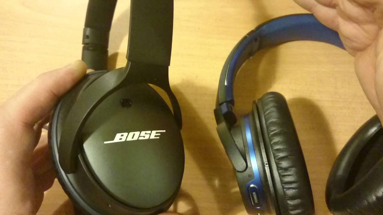 Kindle Vs Sony Reader: Bose QC 25 Vs Sony MDR-ZX770BN Noise Canceling Headphones