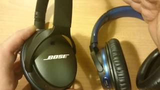 bose qc 25 vs sony mdr zx770bn noise canceling headphones comparison review