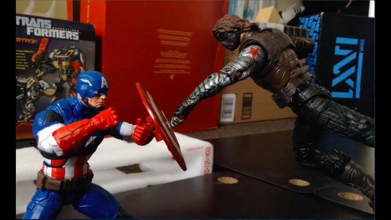 Captain America Stop Motion Captain America Vs Winter