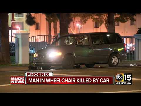 Man hit and killed crossing Phoenix street in wheelchair