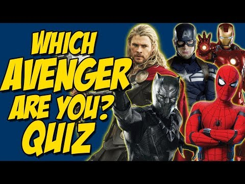 Which Avenger Hero Are YOU? Personality Quiz - Fun Interactive Test 2018