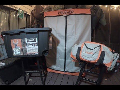 Scent Crusher Hunter's Closet, Ozone Tote, Gear Bag And Go Max