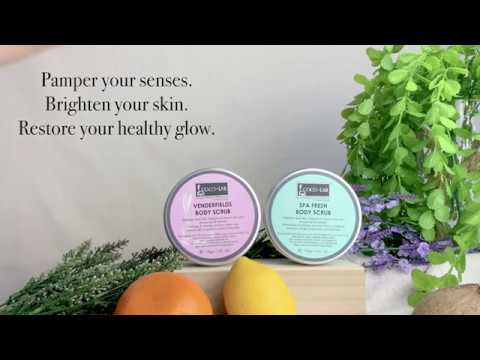 COCOLAB Venderfields Body Scrub - Refresh your skin appearance | Active skin-brightening properties