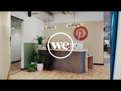 How Pinterest's Office Design Fuels Their Company Culture | Member Stories | WeWork