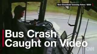 Bus Driver Fatigued Crash HD