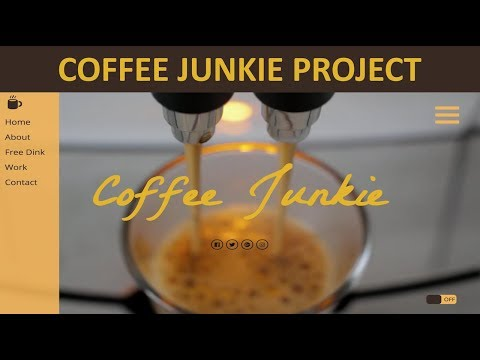 COFFE JUNKIE WEBSITE PROJECT