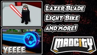 Mad City New Lazerblade Update How to Get It? | Roblox