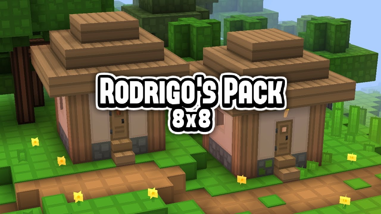 Rodrigo's 8x8 Texture Pack Download & Review • Minecraft FPS Boost Resource Pack