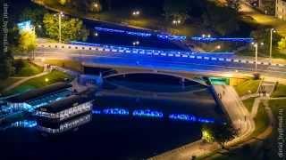 Очень красивое видео о Минске!(Известный фотограф заснял различные места в Миснке с красивых ракурсов и сделал Time-Lapse видео., 2015-02-03T20:47:59.000Z)