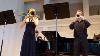 Casterede: Concertino for Trumpet and Trombone
