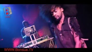 Video: Denrele Edun Twerks as Dj Lambo kills it on Stage Industry Nite #BonsueTV