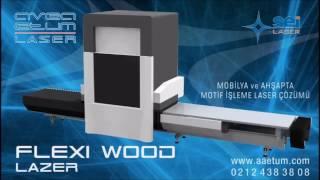 Flexi Wood Galvo Lazer 0533 713 34 44 Ahşap Mobilya Lazer İşleme Makinaları