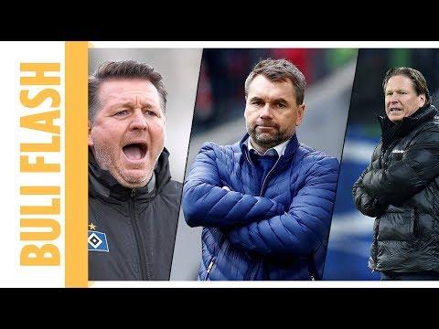 """Die """"Hall of Shame"""" des Hamburger SV – 10 Jahre - 18 Trainer"""