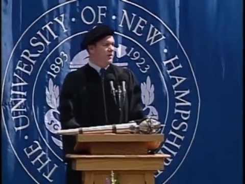 Mike O'Malley '88 Commencement Address at UNH