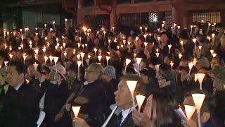 Chinatown Candlelight Vigil Honors Late S.F. Mayor Ed Lee