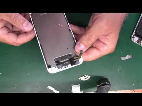 iPhone 6 замена\переклейка рамки дисплея