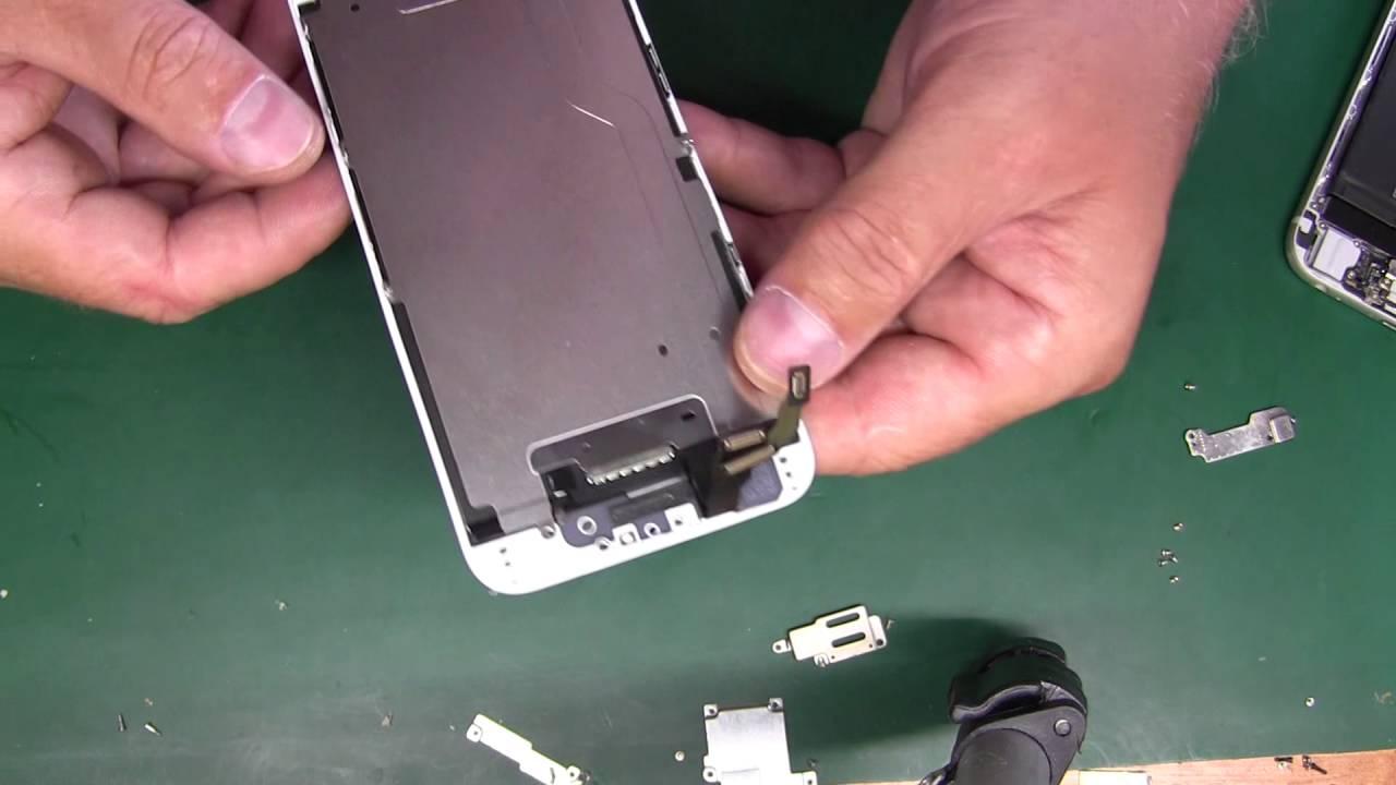 iphone 6 замена рамки дисплея