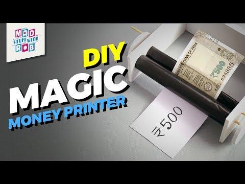 How to make a DIY Magic Money Printer