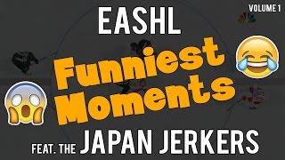 NHL 17 - NHL 17 EASHL FUNNIEST MOMENTS Feat. The Japan Jerkers | #1 - User video