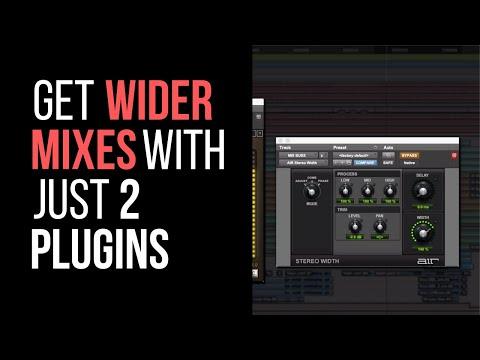 Get Wider Mixes With Just 2 Plugins – RecordingRevolution.com
