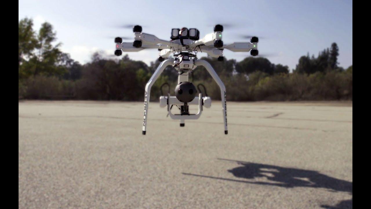 Nokia OZO VR Camera Drone Test Flight