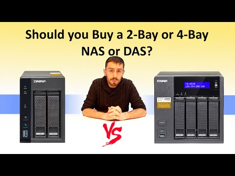 The Difference between 2-Bay and 4-Bay NAS and DAS - Which should you buy