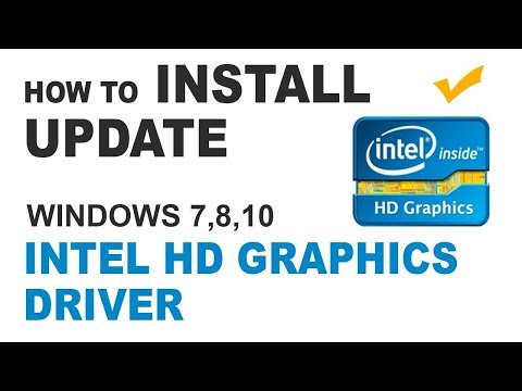 How to Install Intel HD Graphics Driver On Windows 10 - 2019 | Review Again