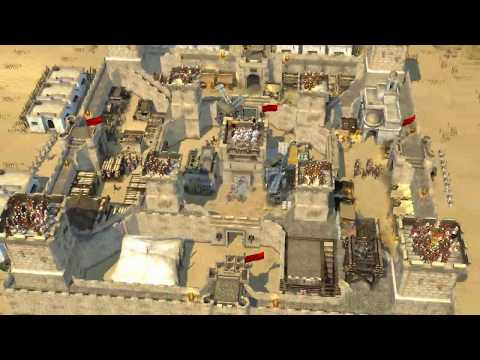 ▶|Stronghold Crusader 2| - BUILD simple efficient castle! |