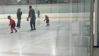 A little free skating today.