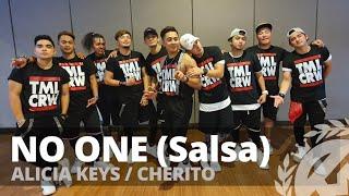 NO ONE (Salsa Remix) by Alicia Keys,Cherito   Zumba   Salsa   TML Crew Camper Cantos