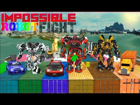 ► Impossible Robot Fight (Creative Games Studios) Android Gameplay